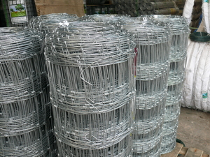 Galvanised Stock Fence ~ L9/120/15 ~ 1.2m x 50m 2.5mm/2mm wire