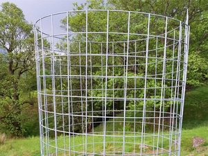 "Welded Mesh Tree Guards - 1.8m x 600mm Dia. (2"" x 2"" Aperture)"