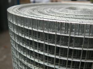 Welded Wire Mesh 3ft x 30m Roll 12x12mm holes / 19 swg (1mm)