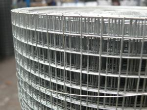 Galv Welded Wire Mesh 4ft x 25m - 12x12mm holes / 16 swg (1.6mm)