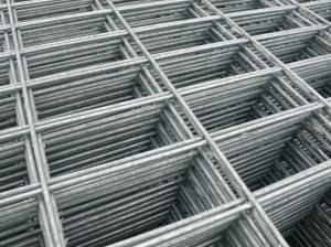 Galv Weld Mesh Panel 1.8m x 0.9m - 150x75mm rectangular holes