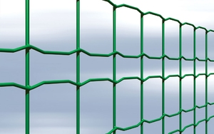 PVC Coated Welded Fencing Mesh (Octagonal) 0.8m x 25mtr
