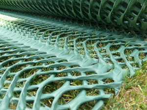 Grass Protection Mesh ~ Medium 13mm Thick / 1.6kg/sqm ~ 2mx10m