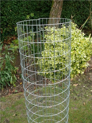 "Welded Mesh Tree Guards - 1.2m x 300mm Dia. (3"" x 1"" Aperture)"