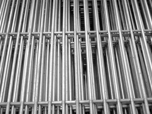"Galvanised Mesh Panel 6ft x 3ft (3"" x 1/2"" / 75mm x 12mm) - 10G / 3mm"