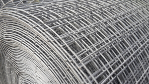 "Welded Wire Mesh 1.22m/4ft x 6m Roll 1""x1"" mesh / 16 swg (1.6mm)"
