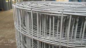 "Galvanised Welded Wire Mesh 2ft x 30m 2""x2"" mesh / 16 swg (1.6mm)"